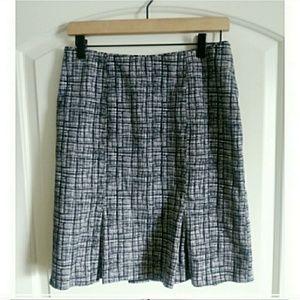 White House Black Market Cotton Skirt! Sz: 4